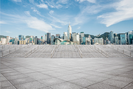 Town Square「Victoria Harbor Hong Kong」:スマホ壁紙(12)