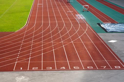 Number「Running track」:スマホ壁紙(11)