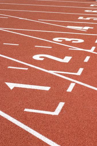 Beginnings「Running Track Lane Numbers」:スマホ壁紙(9)