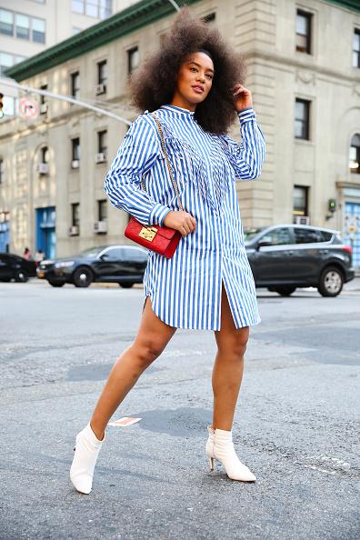 White Shoe「Street Style - New York Fashion Week September 2019 - Day 7」:写真・画像(7)[壁紙.com]