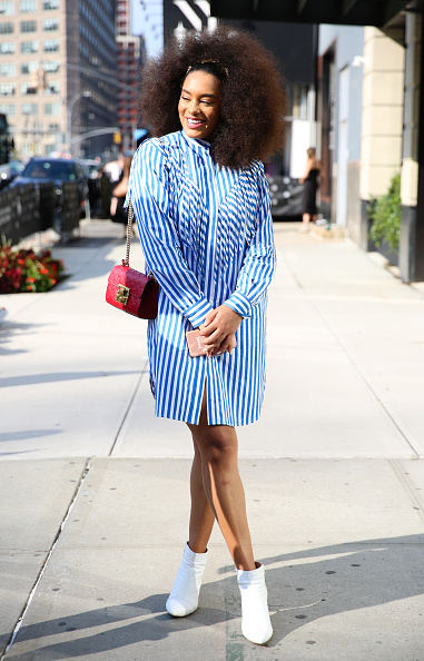 White Shoe「Street Style - New York Fashion Week September 2019 - Day 7」:写真・画像(6)[壁紙.com]