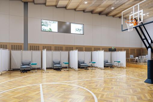 Stadium「Mass Covid-19 Vaccination Centre」:スマホ壁紙(7)