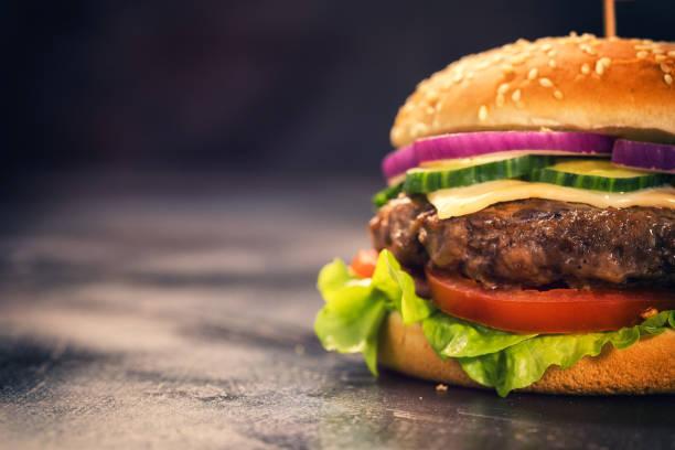 Burger for 4th of July:スマホ壁紙(壁紙.com)
