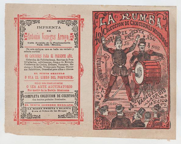 Musical Conductor「Cover For La Rumba: Coleccion De Canciones Modernas Para El Presente Año 1903,」:写真・画像(14)[壁紙.com]