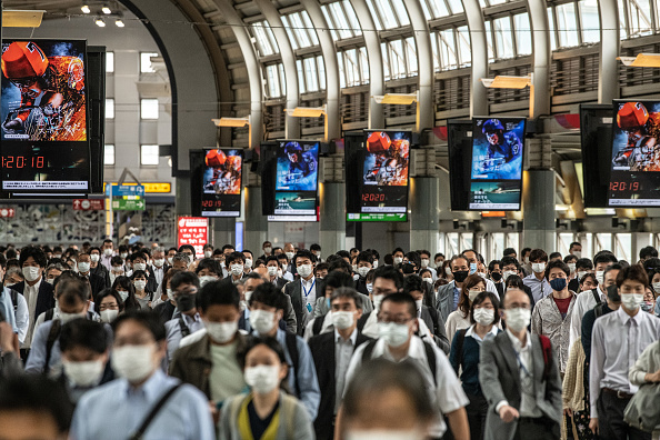 Tokyo - Japan「Japan's State Of Emergency Lifted Nationwide As Covid-19 Cases Decline」:写真・画像(10)[壁紙.com]