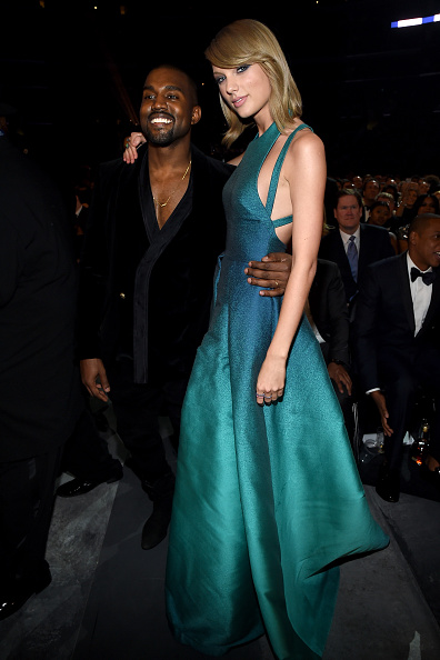 Kanye West - Musician「The 57th Annual GRAMMY Awards - Backstage & Audience」:写真・画像(9)[壁紙.com]