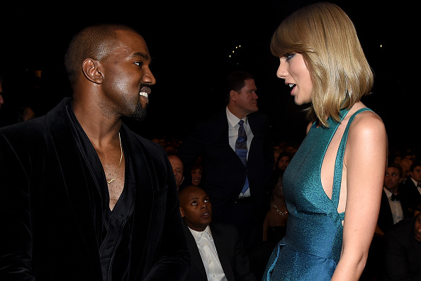 Kanye West - Musician「The 57th Annual GRAMMY Awards - Backstage & Audience」:写真・画像(11)[壁紙.com]