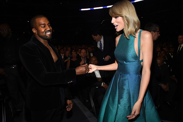 Kanye West - Musician「The 57th Annual GRAMMY Awards - Backstage & Audience」:写真・画像(16)[壁紙.com]