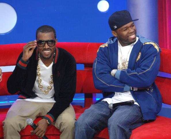 Kanye West - Musician「BET 106 & Park with Kanye West And 50 Cent」:写真・画像(19)[壁紙.com]