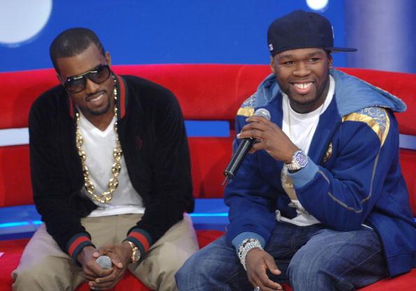 Kanye West - Musician「BET 106 & Park with Kanye West And 50 Cent」:写真・画像(5)[壁紙.com]