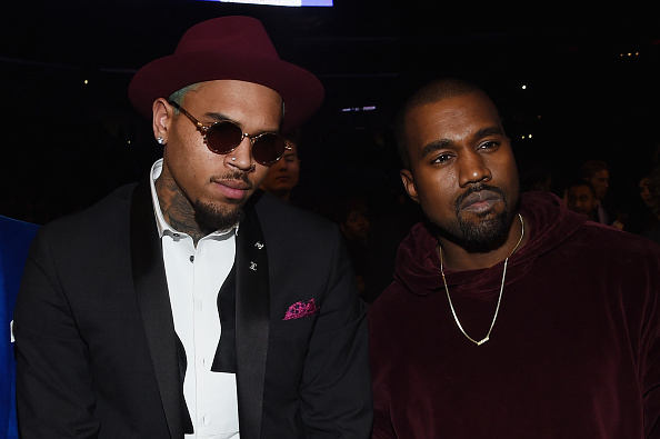 Kanye West - Musician「The 57th Annual GRAMMY Awards - Backstage & Audience」:写真・画像(6)[壁紙.com]