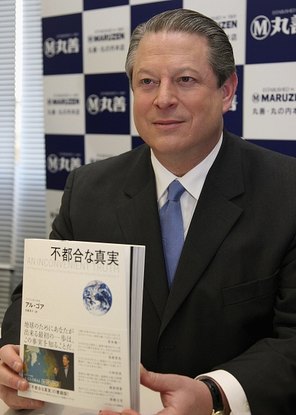 """Greenhouse「Al Gore Attends """"An Inconvenient Truth"""" Book Signing」:写真・画像(15)[壁紙.com]"""