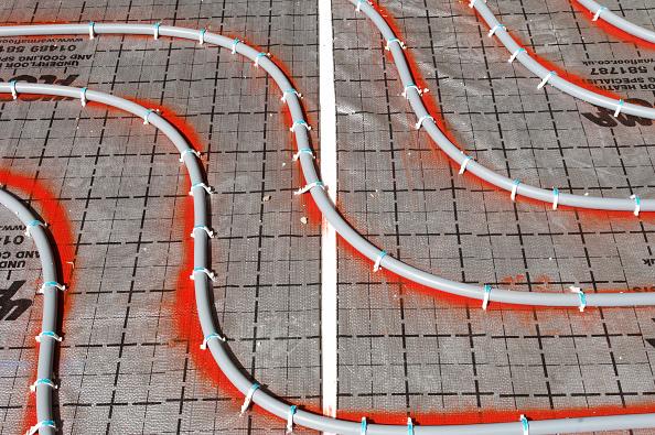 Heat - Temperature「underfloor heating cables installed on construction site」:写真・画像(12)[壁紙.com]