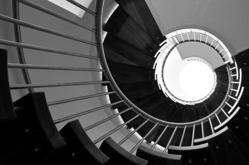 Balustrade「Spiral staircase, Jersey.」:スマホ壁紙(10)