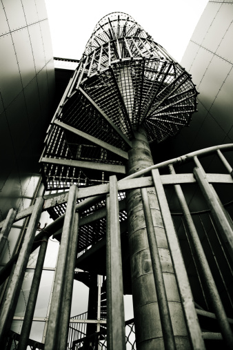 Postmodern「Spiral Staircase」:スマホ壁紙(11)