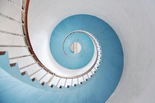 Swirl Pattern「Spiral staircase」:スマホ壁紙(11)