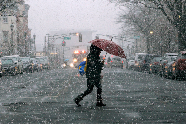 New Jersey「Another Major Nor'Easter Barrels Into Northeastern U.S.」:写真・画像(12)[壁紙.com]