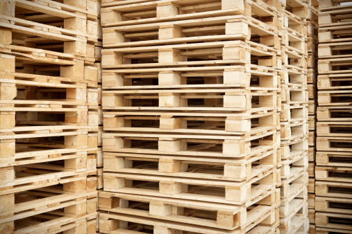 Pallet - Industrial Equipment「Stacked Pallets」:スマホ壁紙(5)