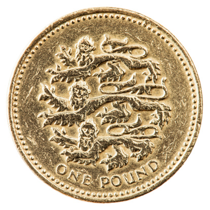 Three Animals「One Pound Coin With English Lions」:スマホ壁紙(11)