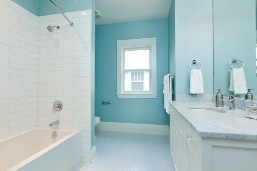 Simplicity「Blue Bathroom」:スマホ壁紙(18)