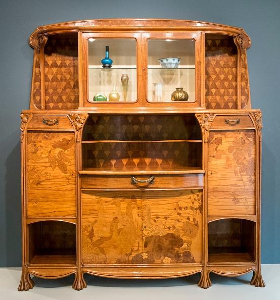 Art Nouveau「Cabinet」:写真・画像(3)[壁紙.com]