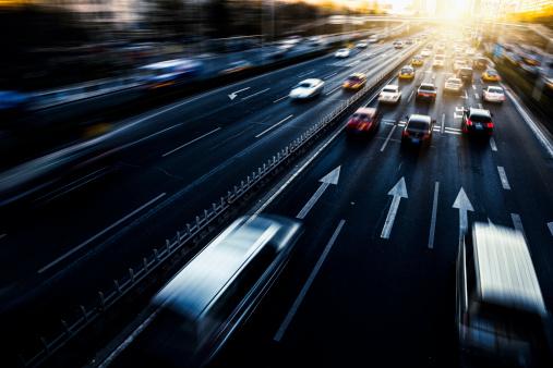Business Travel「busy traffic」:スマホ壁紙(4)