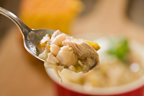 Chicken Meat「Spoonful Of White Chicken Chili」:スマホ壁紙(3)