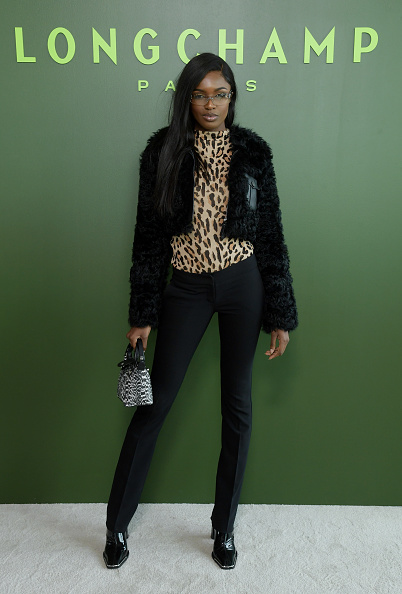Leopard Print「Longchamp Fall/Winter 2020 Runway Show - Arrivals」:写真・画像(15)[壁紙.com]