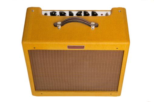 Rock Music「Vintage style guitar amplifier.」:スマホ壁紙(8)