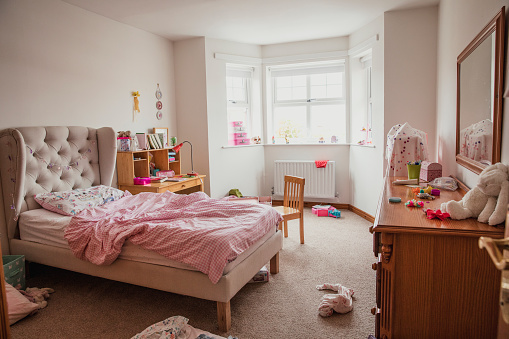 Bedroom「Girl's Bedroom」:スマホ壁紙(2)