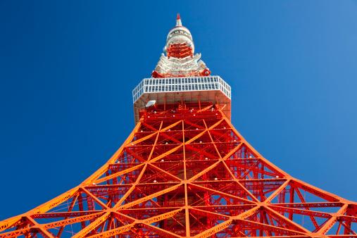 Tokyo Tower「Tokyo Tower, Tokyo, Japan」:スマホ壁紙(1)