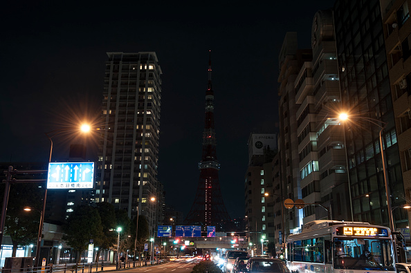 Tokyo Tower「Tokyo Participates In Earth Hour」:写真・画像(9)[壁紙.com]
