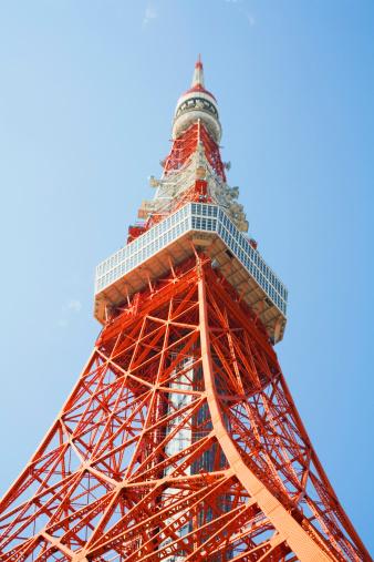 Tokyo Tower「Tokyo tower, Japan」:スマホ壁紙(11)