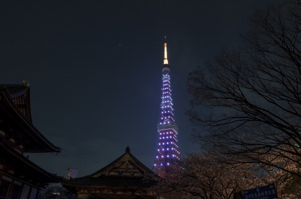 Tokyo Tower「Tokyo Participates In Earth Hour」:写真・画像(19)[壁紙.com]