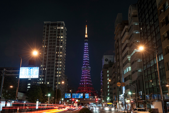 Tokyo Tower「Tokyo Participates In Earth Hour」:写真・画像(10)[壁紙.com]