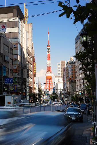 Tokyo Tower「Tokyo Tower, Roppongi, Tokyo, Japan」:スマホ壁紙(3)