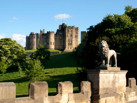 Castle「Alnwick Castle, Northumberland」:スマホ壁紙(12)
