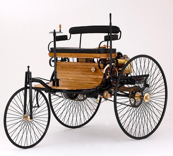 Wheel「1885 Benz Three Wheeler」:写真・画像(2)[壁紙.com]