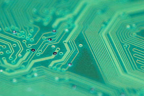 Mother Board「Electronic circuit abstract macro」:スマホ壁紙(17)