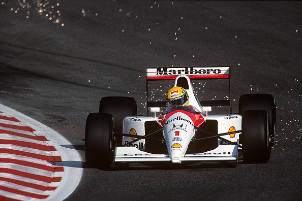 McLaren F1 Team「Ayrton Senna, Grand Prix Of Belgium」:写真・画像(8)[壁紙.com]