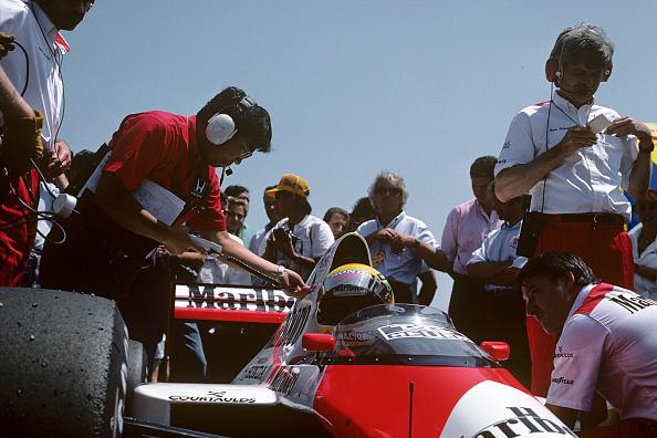 Mechanic「Ayrton Senna, Grand Prix Of France」:写真・画像(18)[壁紙.com]