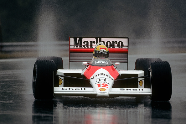 McLaren F1 Team「Ayrton Senna, Grand Prix Of Hungary」:写真・画像(3)[壁紙.com]
