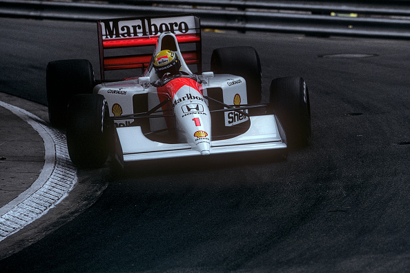 McLaren F1 Team「Ayrton Senna, Grand Prix Of Monaco」:写真・画像(10)[壁紙.com]