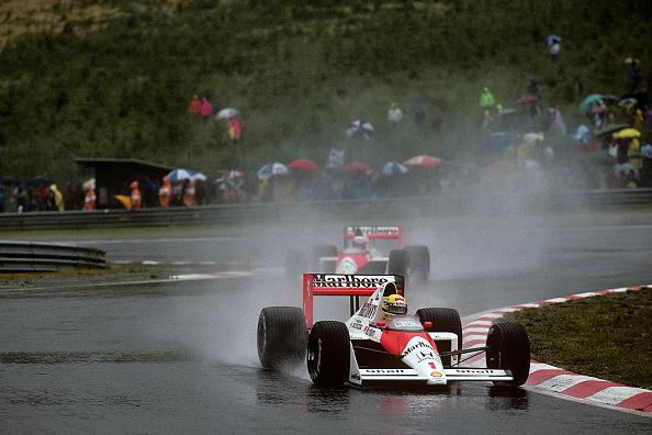 McLaren F1 Team「Ayrton Senna, Alain Prost, Grand Prix Of Belgium」:写真・画像(19)[壁紙.com]
