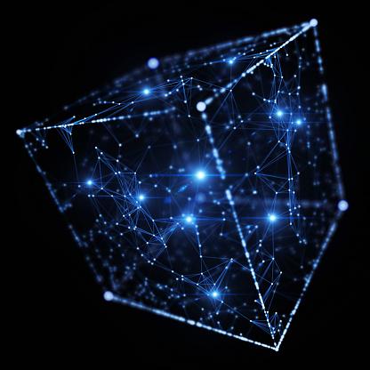 Binary Code「Network」:スマホ壁紙(10)