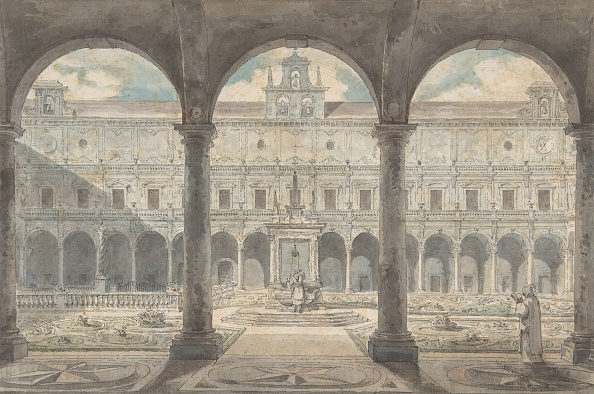 18th Century Style「Cloister Of The Certosa Di San Martino」:写真・画像(12)[壁紙.com]