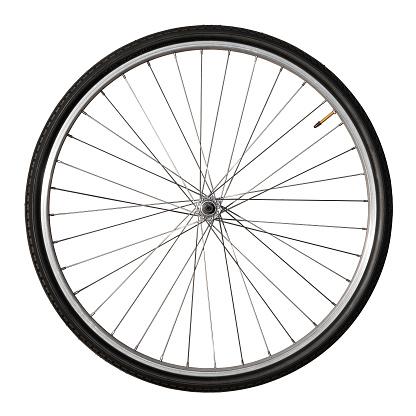 Cycle - Vehicle「Vintage Bicycle Wheel Isolated On White」:スマホ壁紙(13)