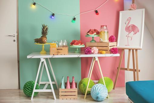 Pineapple「Summer party table」:スマホ壁紙(5)