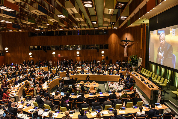 Meeting「United Nations Hosts Youth Climate Summit」:写真・画像(10)[壁紙.com]