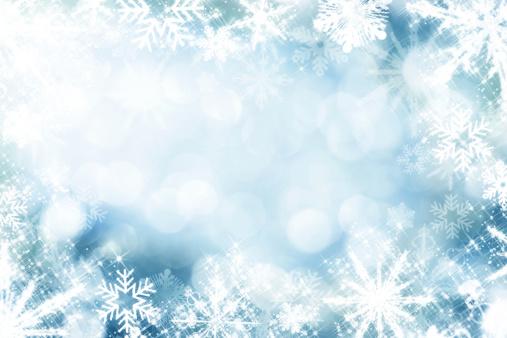 Christmas Paper「Snowflakes Infront Of Defocused Lights」:スマホ壁紙(2)